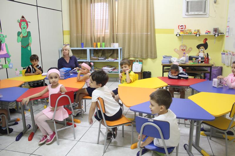 Crianças da educação infantil