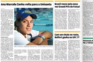 Ana Marcela Cunha volta para a Unisanta
