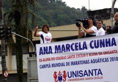 Ana Marcela homenagem