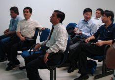Chineses visitam a Unisanta – 17/02
