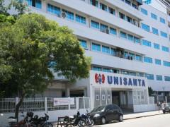 fachada Unisanta