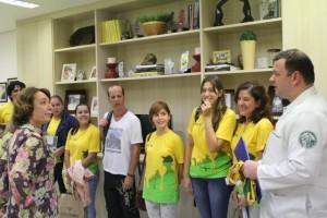Equipe Rondon da Unisanta que participou de missão, em janeiro