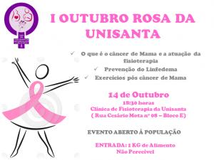 Evento outubro Rosa