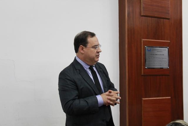 Secretario de Assuntos Portuarios e Maritimos Eduardo Lopes