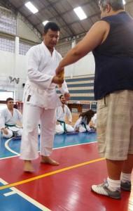 Fabiano Soares, karateca