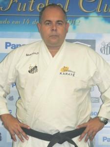 Paulo Bartolo, professor de Karate