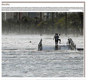 Capa do jornal A Tribuna, nesta sexta-feira (20)
