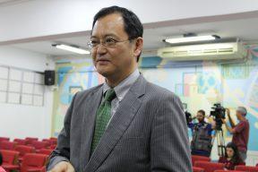 O cônsul Geral do Japão, Takahiro Nakamae.